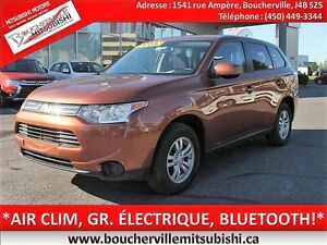 2014 Mitsubishi Outlander ES*AIR CLIM. BLUETOOTH, GR. ÉLECTRIQUE
