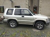 02 Isuzu Trooper 3.0. SOLD SOLD SOLD