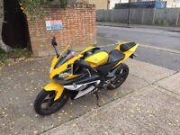 yamaha r125 yellow