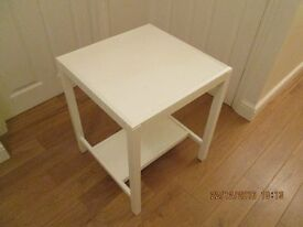 CONSOLE TABLE 1950s aprox PAINTED LAURA ASHLEY COUNTRY WHITE
