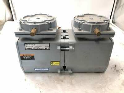 Gast Daa-p103-eb Two-stage Oilless Diaphragm Vacuum Pump 115110v 3.53.6a 1ph