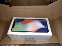 iPhone X 256gb Unlocked Silver
