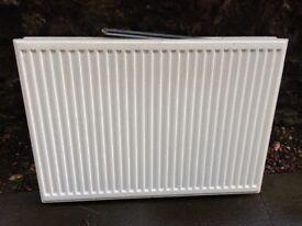 Wall mounted radiator 100cm x 70cm