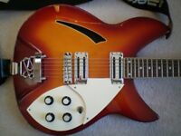 Indie 330 jangly 6 string semi hollow guitar 60s, New Wave, Mod, electric,with upgrade,sought after.