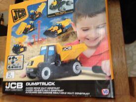 JCB Construction Toy - brand new