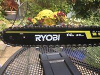 Ryobi 35cm Petrol Chainsaw - new