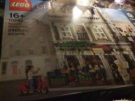 Lego Creator Parisian Restaurant 10243 - *****SOLD*****