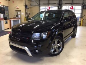 2017 Dodge Journey CROSSROAD*AWD*CUIR*7 PASSAGERS*AUDIO ALPINE*