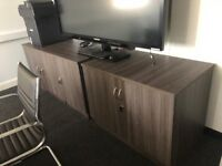 2 wooden units for sale