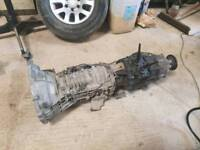 Toyota hilux gearbox and transfer box 2009 2.5 d