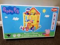 Peppa Pig House Construction Set