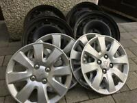 Genuine peugeot wheels and trims