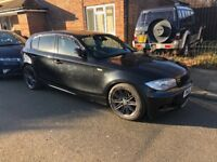 bmw 1 series 120d m sport i drive auto full leathers hpi clear quick sale fully loaded not 116i audi
