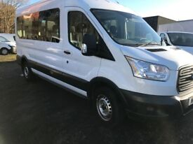2015 FORD TRANSIT 15 SEATER MINIBUS for hire/sale
