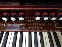 Schiedmayer Pianofortefabrik Stuttgart Organ for sale
