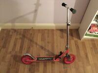 pink aluminium scooter large wheels 20,50 cm