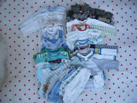 Baby boy clothes bundle no. 2. 3-6 months.27 items.Willing to split.3 BABYGROS IN PHOTO SOLD.£9 ovno