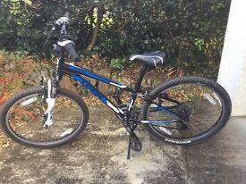 Boys Trek MT220. 24 inch wheels. 21 gears.