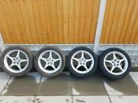 Toyota celica alloy wheels