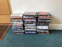 Bundle of DVDs for sale, some unopened.