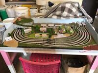 Full N Gauge Model Railway Train Set DC & DCC Layout Graham Farish Plus extras Starter Set