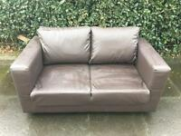 Leather Sofa ( Can Deliver )