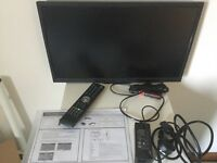 Cello Traveller-LED 22in 12v/240v tv with freeview, satellite ready, and built in DVD player