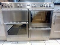 Stoves Dual Fuel Stainless Steel Cooker 110