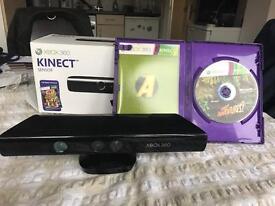 XBOX 360 Kinect and Kinect Adventures