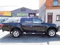 Finance me... Mitsubishi L200 Warrior automatic, Gleaming back with full leather air con sat nav 35