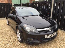 Vauxhall Astra 1.8 SRi 2008 in black