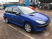 2003 PEUGEOT 206 SW 1.4 LX PETROL # CHEAP TIDY PX CAR # CAT C