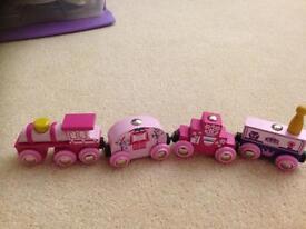 Pink brio train - collection edition