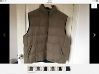 Gents reversible gillet/bodywarmer. XL