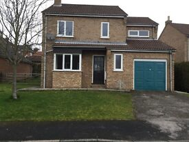 To let -kirkbymoorside 4 bedroom detached house with garage and garden