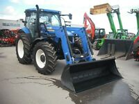 2014 New Holland T6-140 tracteur+loader