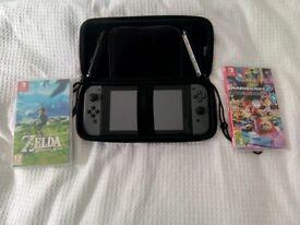 Nintendo Switch Bundle - Zelda Mario Kart