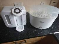Tommie tippee prepmachine and steraliser