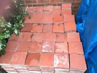 1000 Reclaimed Red Victorian Quarry Tiles