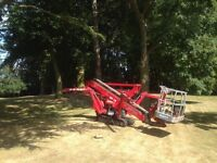Operated cherry picker hire - narrow access tracked spiderlift MEWP access platform