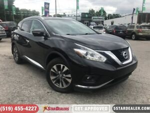 2015 Nissan Murano SL | NAV | LEATHER | PANO ROOF | CAM
