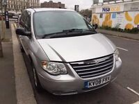 Chrysler Grand Voyager , Automatic ,Diesel , Full Leather , 7Seater, MOT 24/02/2018