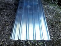 Roofing sheets,brand new, box profile galvanised steel,10,12,14,15ft lengths.sensable prices.