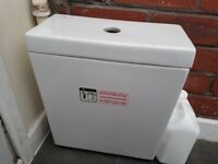 Brand new toilet cistern unused
