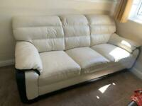 Leather sofas for sale (3 seater & 2 seater)