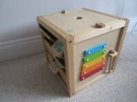 Early Learning Centre Giant Wooden Activity Cube