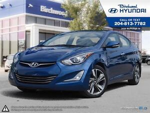 2014 Hyundai Elantra Limited w/Navi Rear Cam Sunroof