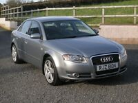 2006 Audi A4 1.9 TDi, Grey Saloon, just serviced, thule tow-bar & new 225x45x18 tyres 500 miles ago