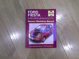 Ford Fiesta owners Workshop Manual
