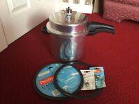 Prestige 6 Litre High Dome Pressure Cooker